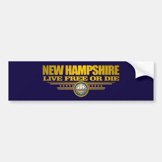New Hampshire (SP) Bumper Sticker