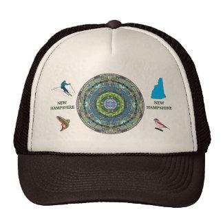 New Hampshire State Mandala Hat 2