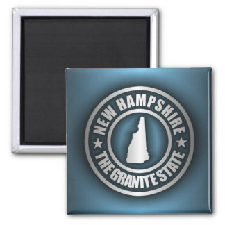 """""""New Hampshire Steel 2"""" Magnets"""