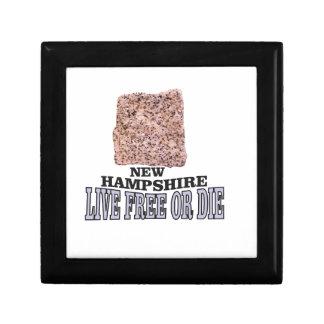 New Hampshire stone Gift Box