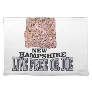 New Hampshire stone Placemat
