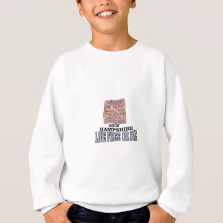 New Hampshire stone Sweatshirt