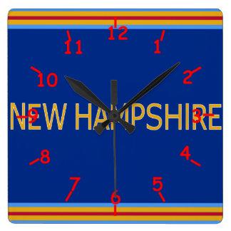 New Hampshire Wall Clock
