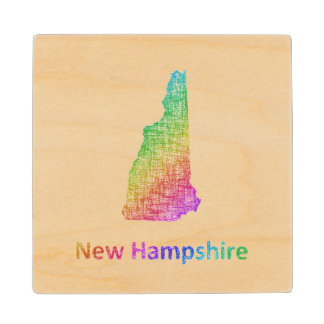 New Hampshire Wood Coaster