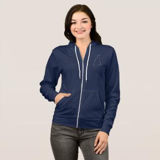 New Hampshire zip up hoodie