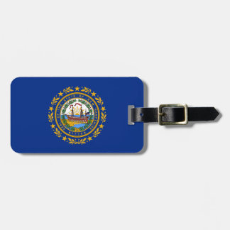 New Hampshire's Flag Luggage Tag