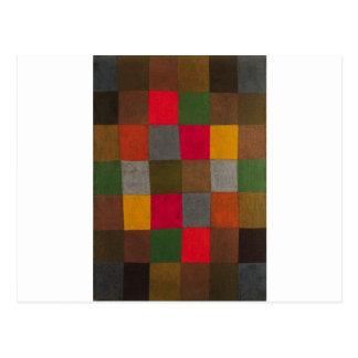 New Harmony by Paul Klee Postcard