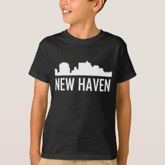 New Haven Connecticut City Skyline T-Shirt