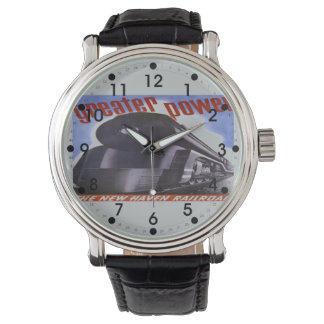 New Haven Railroad Greater Power 1938 Watch