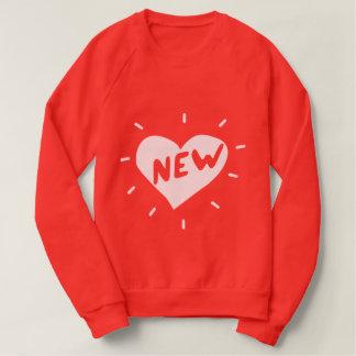 New Heart / Women's American Apparel  Sweatshirt