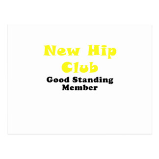 New Hip Club Good Standing Member Postcard