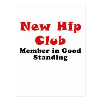 New Hip Club Member in Good Standing Postcard