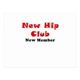 New Hip Club New Member Postcard