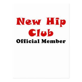 New Hip Club Official Member Postcard