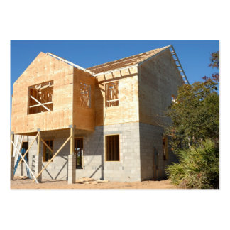 new home construction pack of chubby business cards