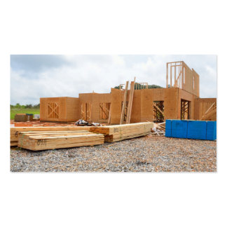 New home construction pack of standard business cards