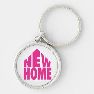 New Home Keyring/Keychain Key Ring