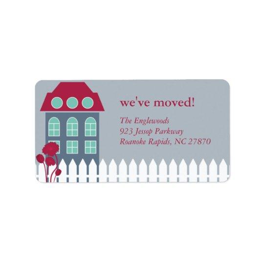 New Home Mailing Label Address Label