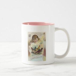 New Home Sewing Machine Two-Tone Coffee Mug