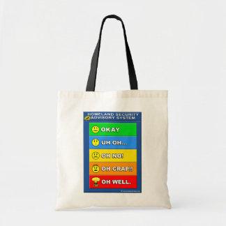 New Homeland Security Advisory System Bags