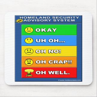 New Homeland Security Advisory System Mousepads