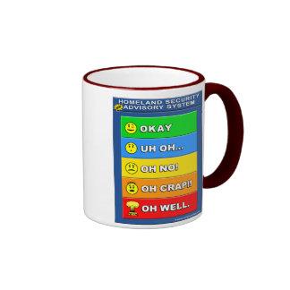 New Homeland Security Advisory System Mug