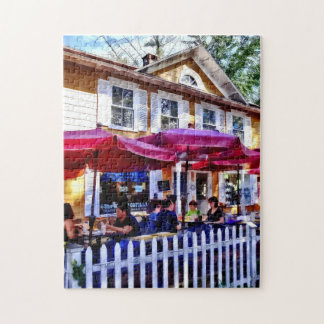 New Hope PA - Dining Al Fresco Jigsaw Puzzle