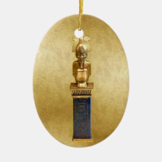 NEW-Horus - Yule - 2NBG Ceramic Oval Decoration