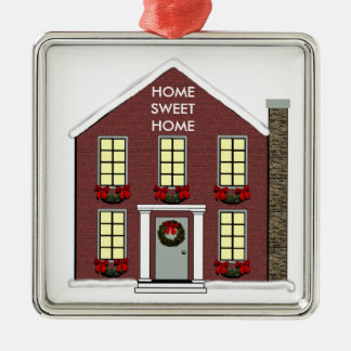 New House Collectible Metal Ornament