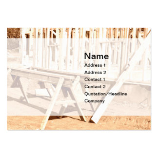 new house construction pack of chubby business cards