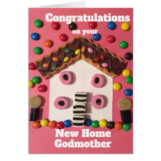 New house godmother card