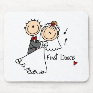 New Husband And Wife's First Dance Mousepad