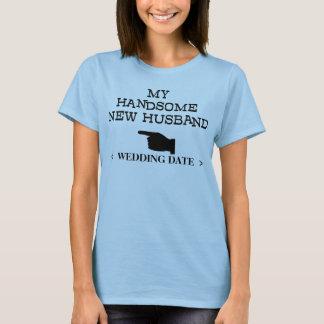 New Husband (Wedding Date) T-Shirt
