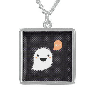New in shop : Designers necklace with Boo art