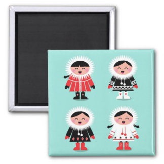 New in shop : magnet with little Eskimos