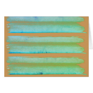 New in Shop : original paper artwork with Green Card