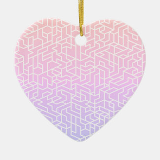 New in shop : Stylish acrylic Heart shape Ceramic Ornament