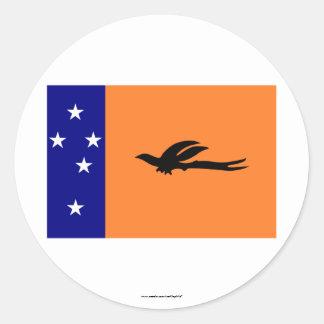 New Ireland Province, PNG Round Sticker