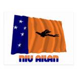 New Ireland Province Waving Flag