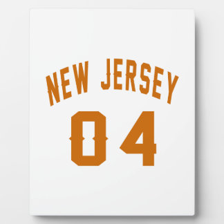 New Jersey  04 Birthday Designs Display Plaque