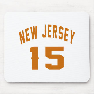 New Jersey  15 Birthday Designs Mouse Pad