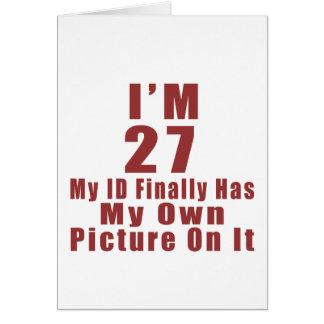New Jersey 2 Birthday Designs Card