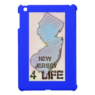 """""""New Jersey 4 Life"""" State Map Pride Design iPad Mini Covers"""
