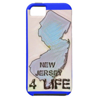 """New Jersey 4 Life"" State Map Pride Design iPhone 5 Covers"