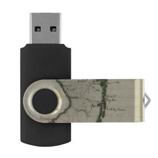 New Jersey 5 Swivel USB 2.0 Flash Drive