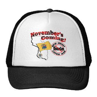 New Jersey Anti ObamaCare – November's Coming! Cap