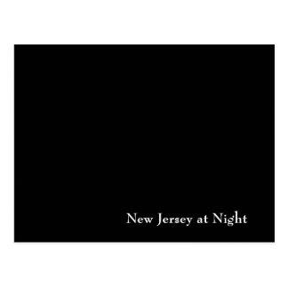 New Jersey at Night Postcard