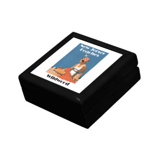 New Jersey Beaches ~ Wildwood Small Square Gift Box