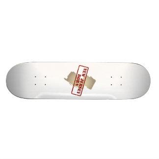 New Jersey Born - Stamp on Map Skateboard Decks