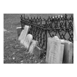 New Jersey Cemetery Card